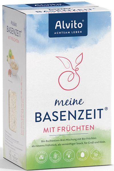 Alvito BasenZeit Bio - Buchweizen-Hirse-Brei