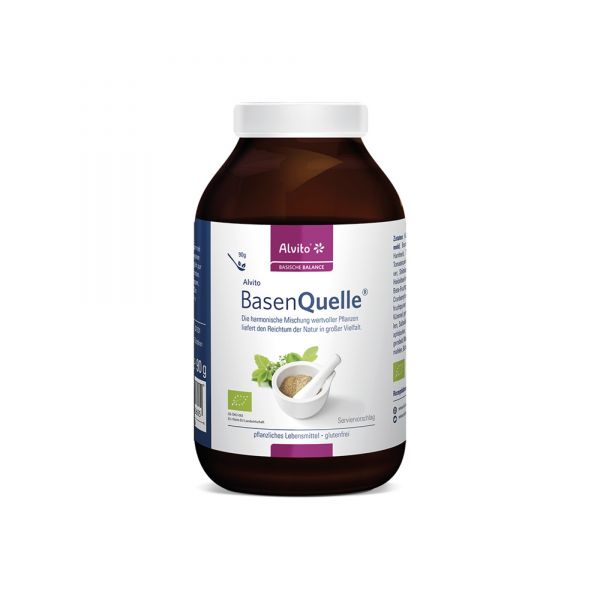 Alvito BasenQuelle 90 g Bio - Pflanzliche Nährstoffe pur