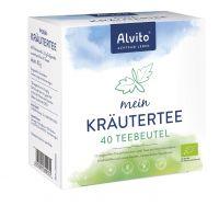 Alvito Mein KräuterTee 40 Teebeutel (80 g) Bio