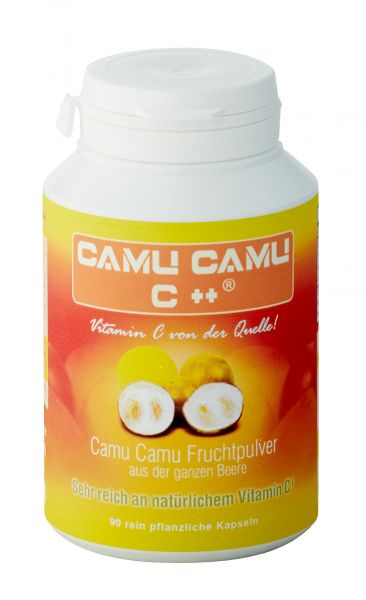 UHTCO Camu Camu C++ 90 Kapseln - natürliches Vitamin C