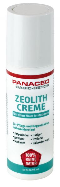 Panaceo Zeolith Creme 50 ml - Natürliche Hautpflege