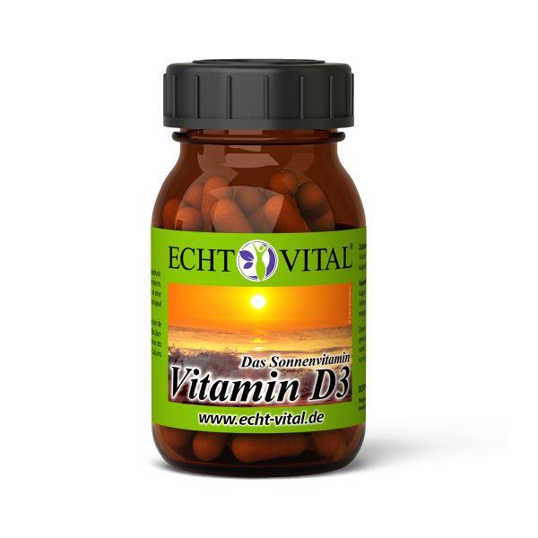 Echt Vital Vitamin D3 Kapseln