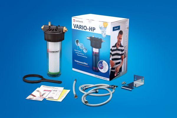 Carbonit VARIO Küche Filtersystem / Schnellkupplungen / NFP Premium Filter