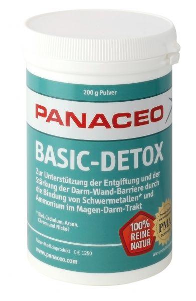Panaceo Basic-Detox Pulver 200 g/ PMA-Zeolith / aktivierter Natur-Zeolith