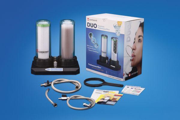 Carbonit DUO Kalk 2-stufiges Filtersystem / NFP Premium / Ionentauscher